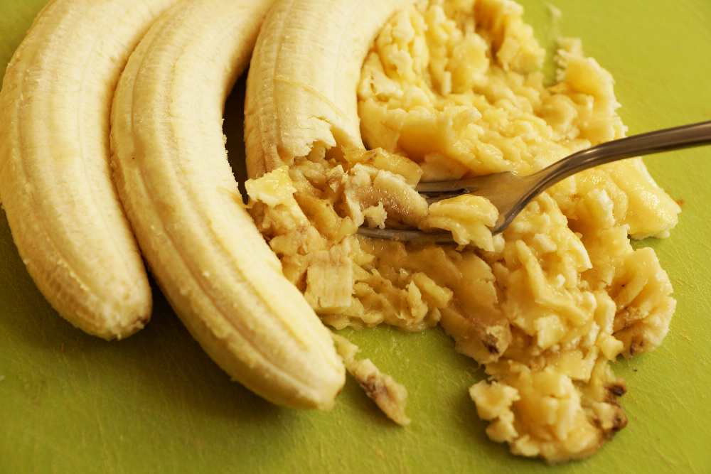 How to make vegan banana bread, sugarfree and glutenfree