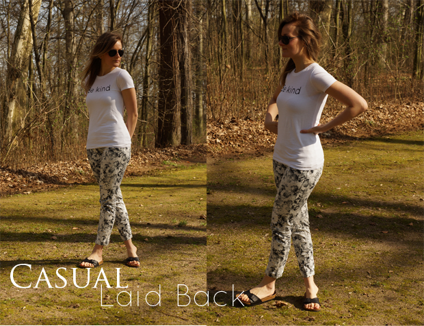 { LeBoer Shirt | Promod Pants | Birkenstock Sandals | H&M Sunnies}