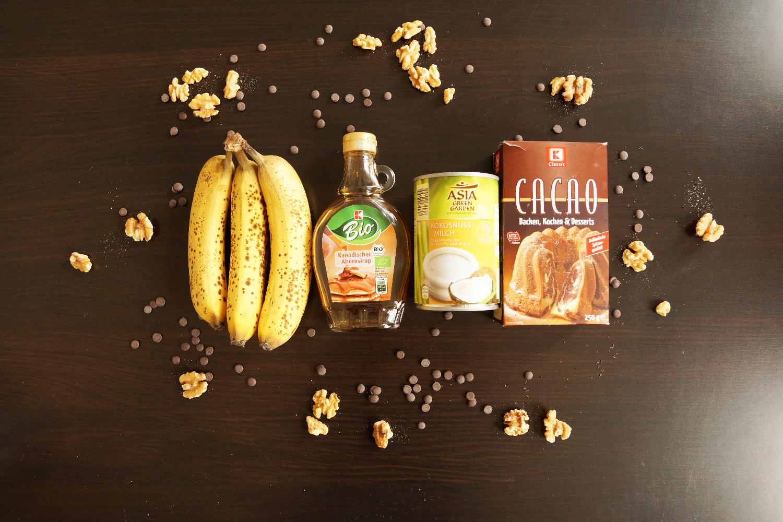 Fudgy Chocolate Banana Tarte (vegan, sugarfree, glutenfree) | Schokoladentarte (zuckerfrei, glutenfrei, vegan)
