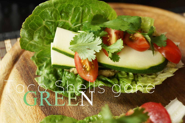 Raw vegan taco shells | Rohkost tacos