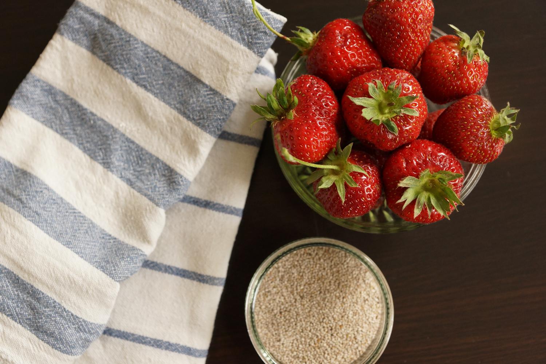 Sugarfree, Two Ingredients Strawberry Jam   Erdbeermarmelade ohne Zucker