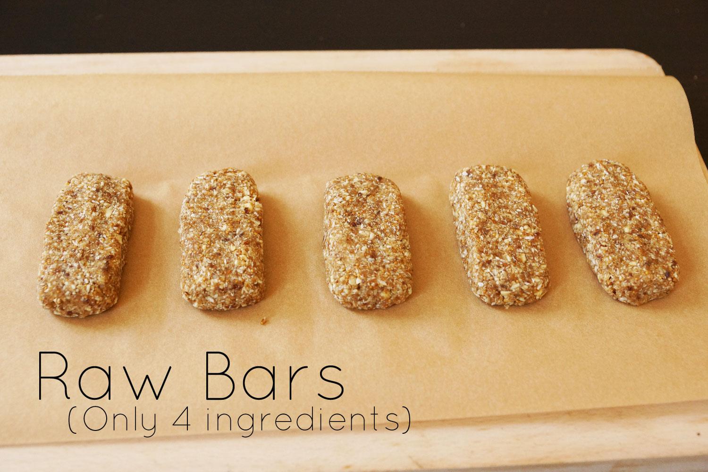 Raw vegan bars | Rohkost Riegel