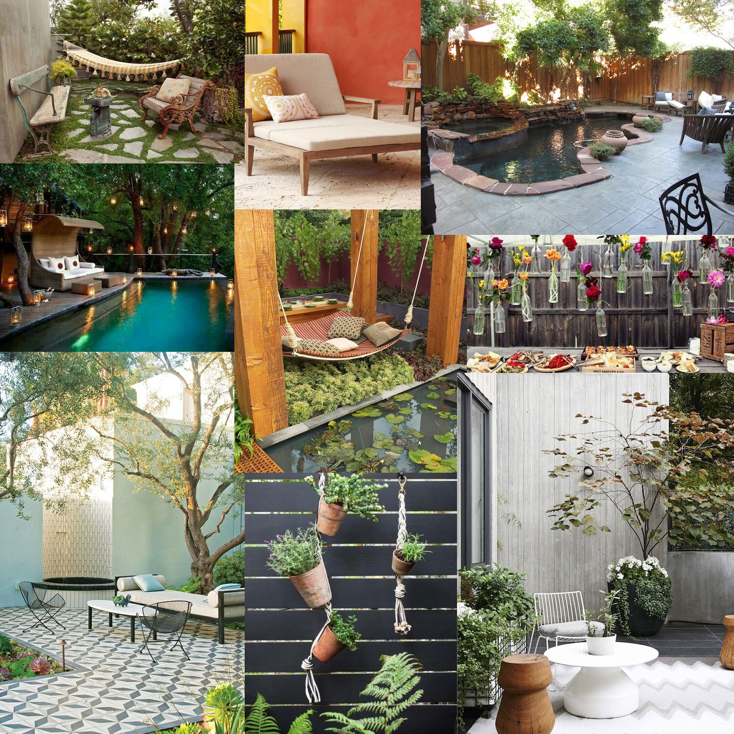 Inspiration Front Porches and Backyards
