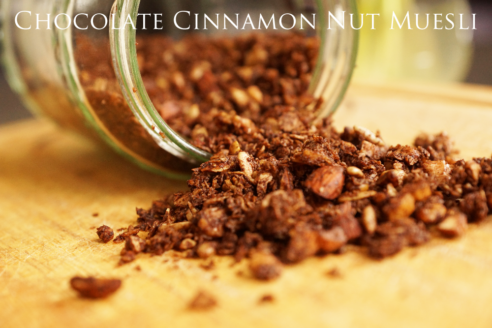 Chocolate Cinnamon Nut Muesli