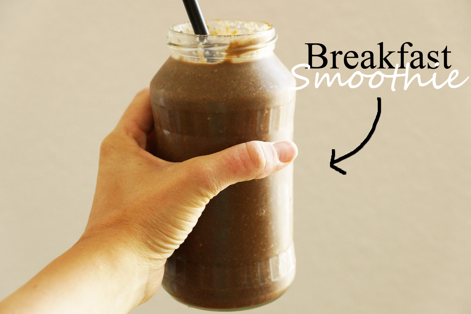 Breakfast Chocolate Smoothie