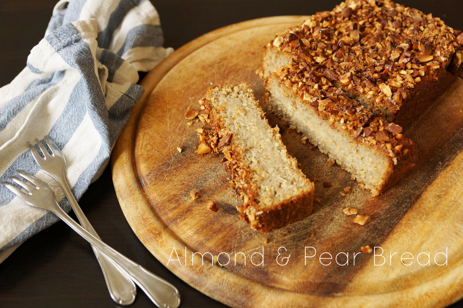 Almond and Pear Bread