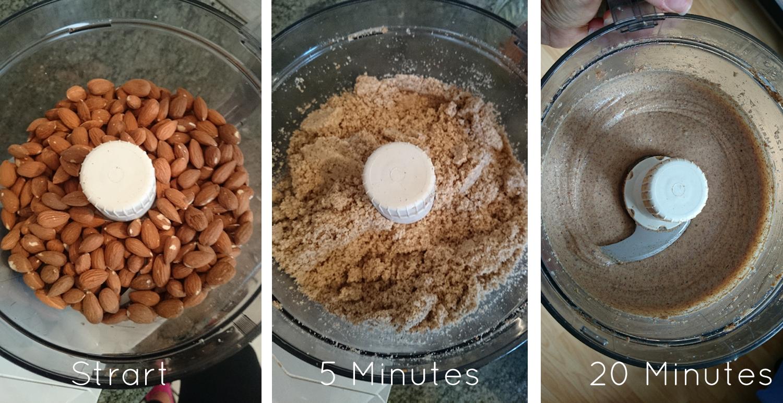 Homemade Almond Butter | Mandelbutter selbstgemacht