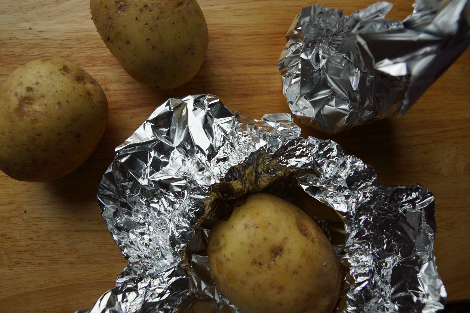 Baked Potatoes or Kumpir | Ofen Kartoffeln
