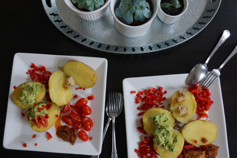 Baked Potatoes or Kumpir | Ofen Kartoffeln