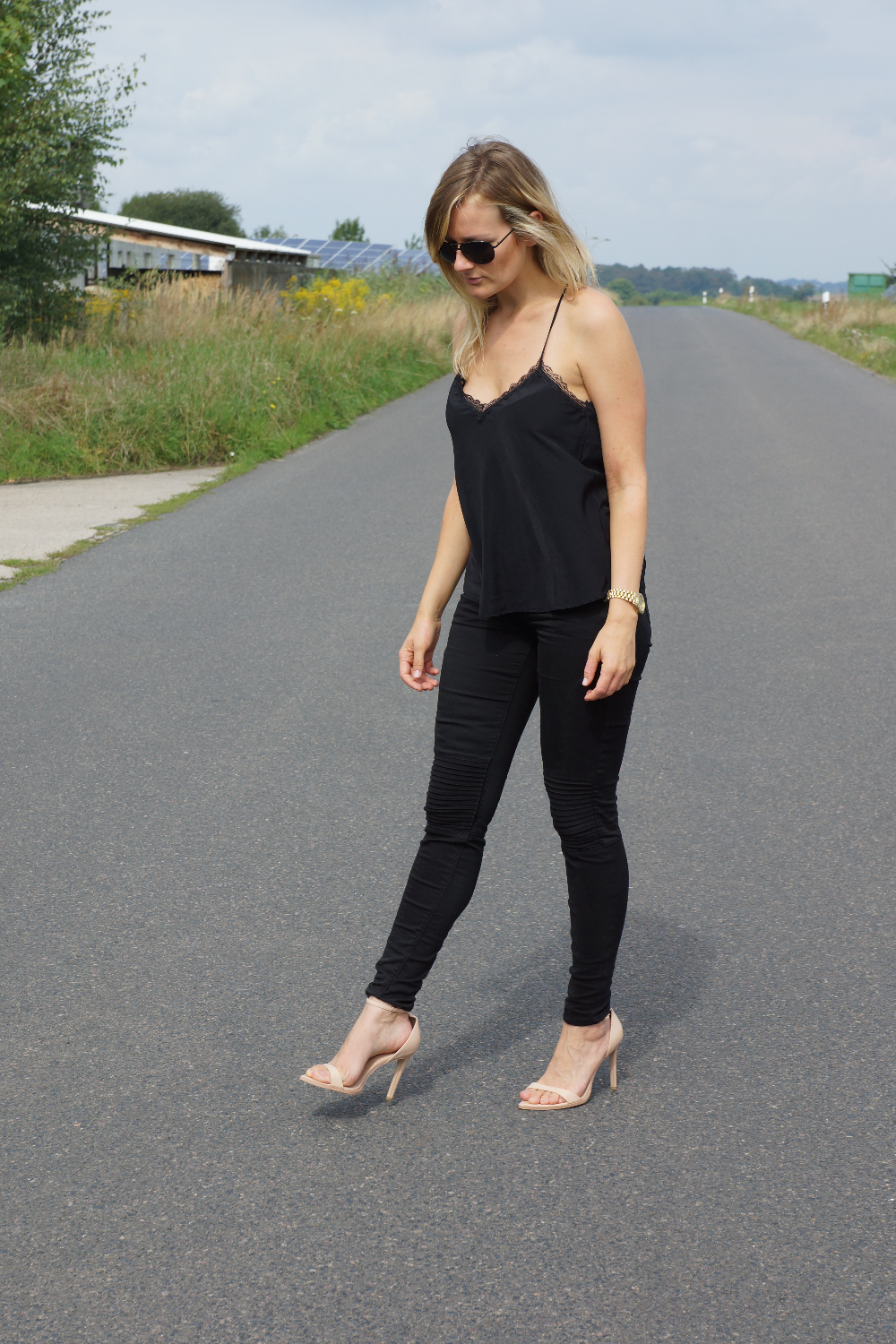 Cami | All black look | LeBoer