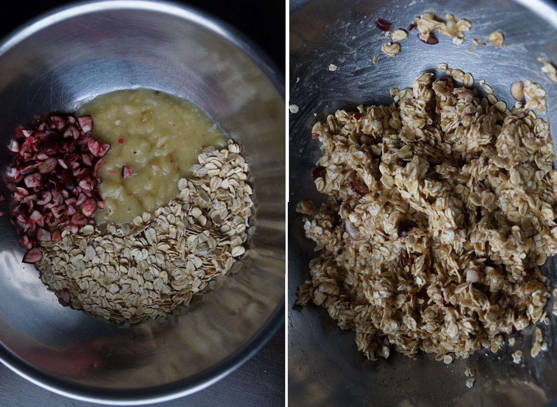 Cranberry Oat Cookies // Cranberry Haferflocken Kekse (vegan, plantbased, refined sugar free, gluten free, dairy free)